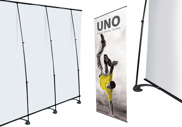 how to build a banner stand